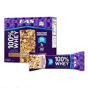 EAS 100% Whey Protein Bars