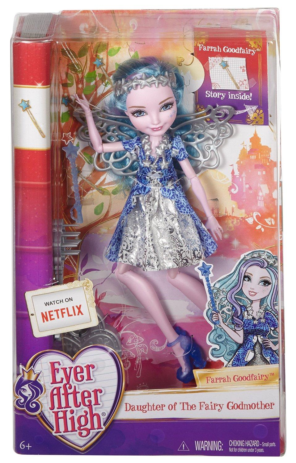 Ever After High Toy Box : Amazon ever after high farrah goodfairy doll toys