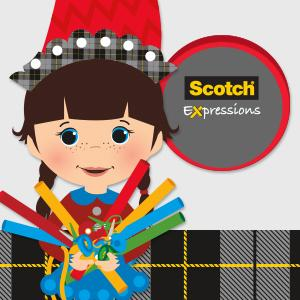 Zoe - Scotch Expressions Tape
