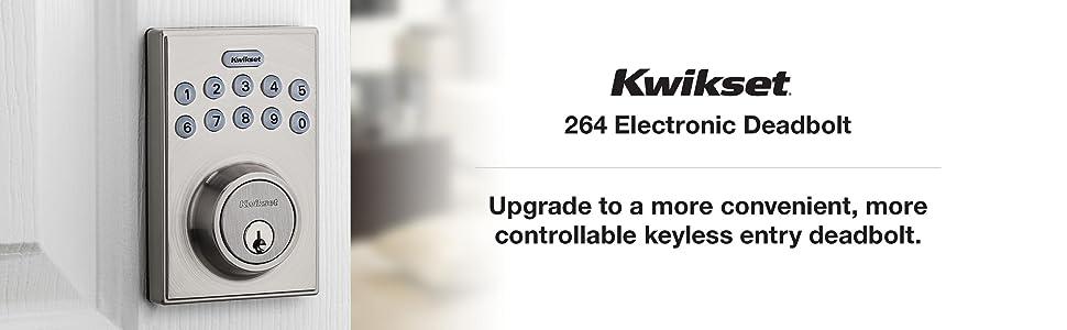 smartcode, smartkey, kwikset, quickset, quikset, electronic lock, keyless lock, door lock