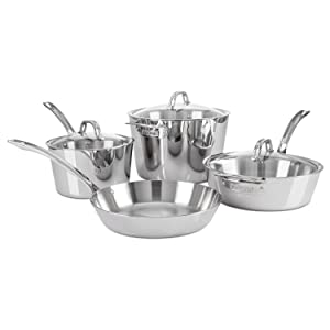Amazon Com Viking Contemporary 3 Ply Stainless Steel
