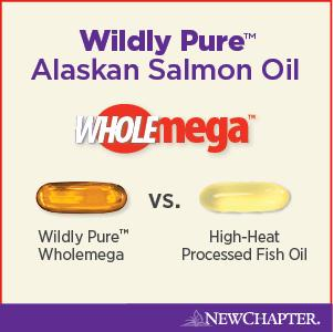 New chapter wholemega fish oil supplement 100 for Wholemega fish oil