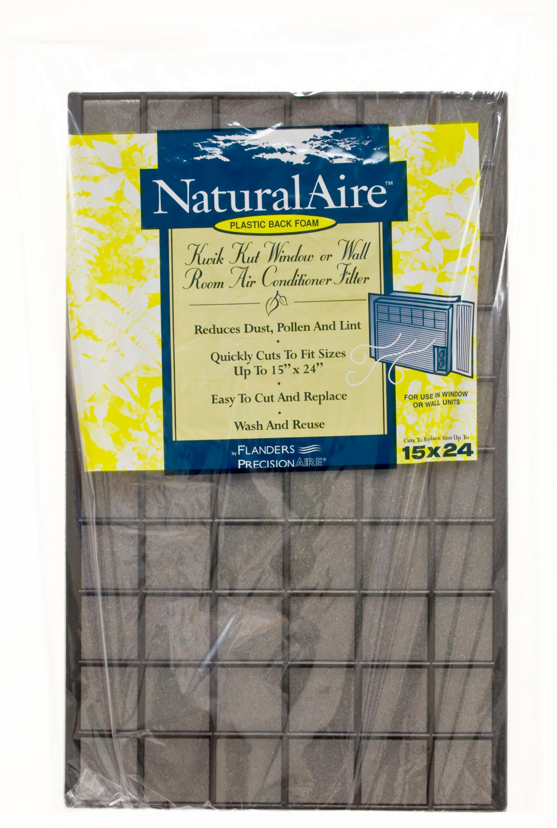 NaturalAire Cut-to-Fit Natural Fiber Air Filter, MERV 122, 2122 x 122 x 12-Inch,  122-Pack