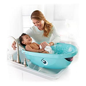 fisher price whale of a tub bathtub white baby. Black Bedroom Furniture Sets. Home Design Ideas