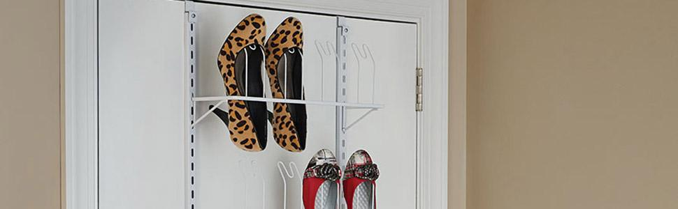 ClosetMaid Adjustable Wall U0026 Door Organizers