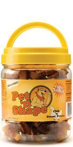 chicken sweet potato dog treats