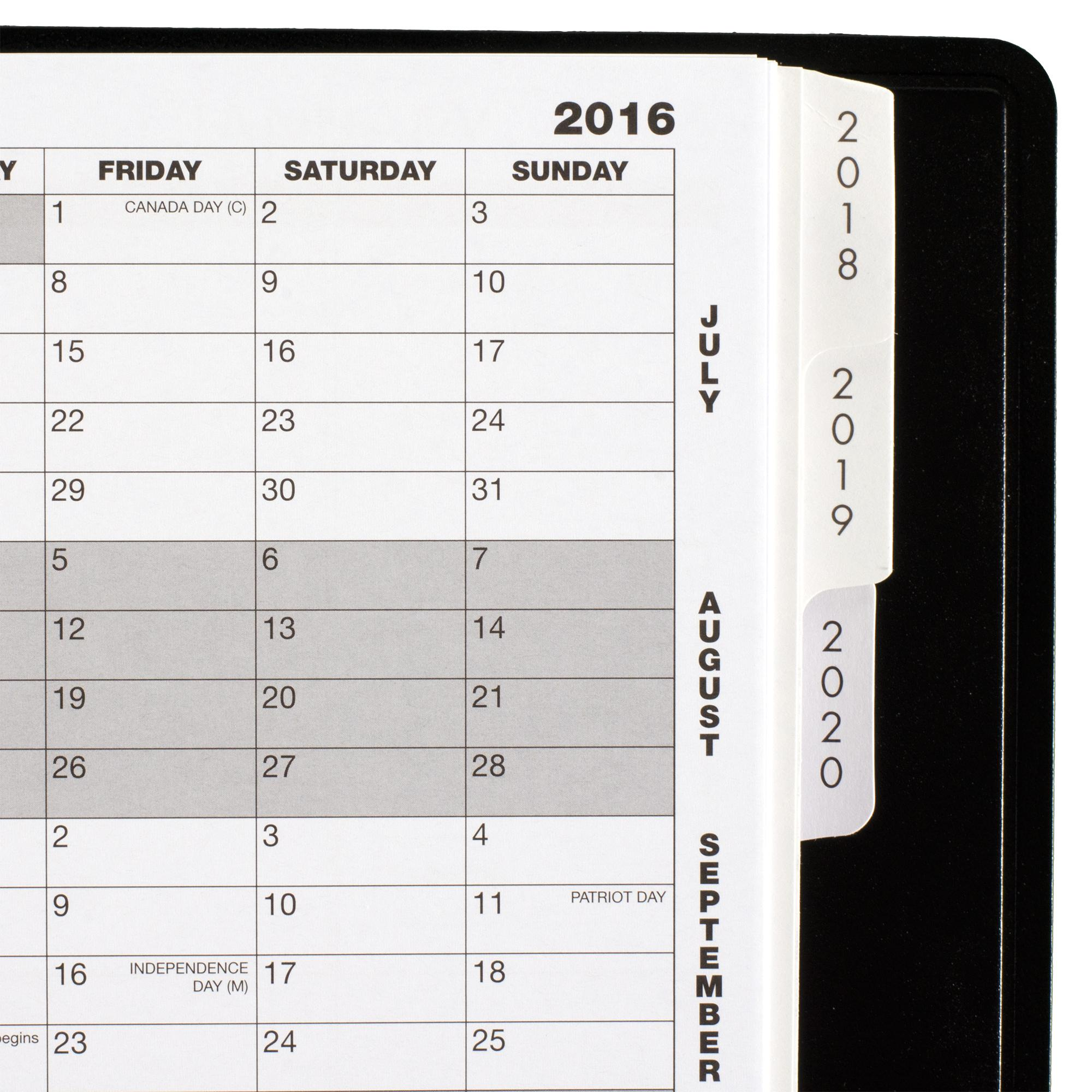 amazon com at a glance 5 year monthly planner 2018 60 months 9 x