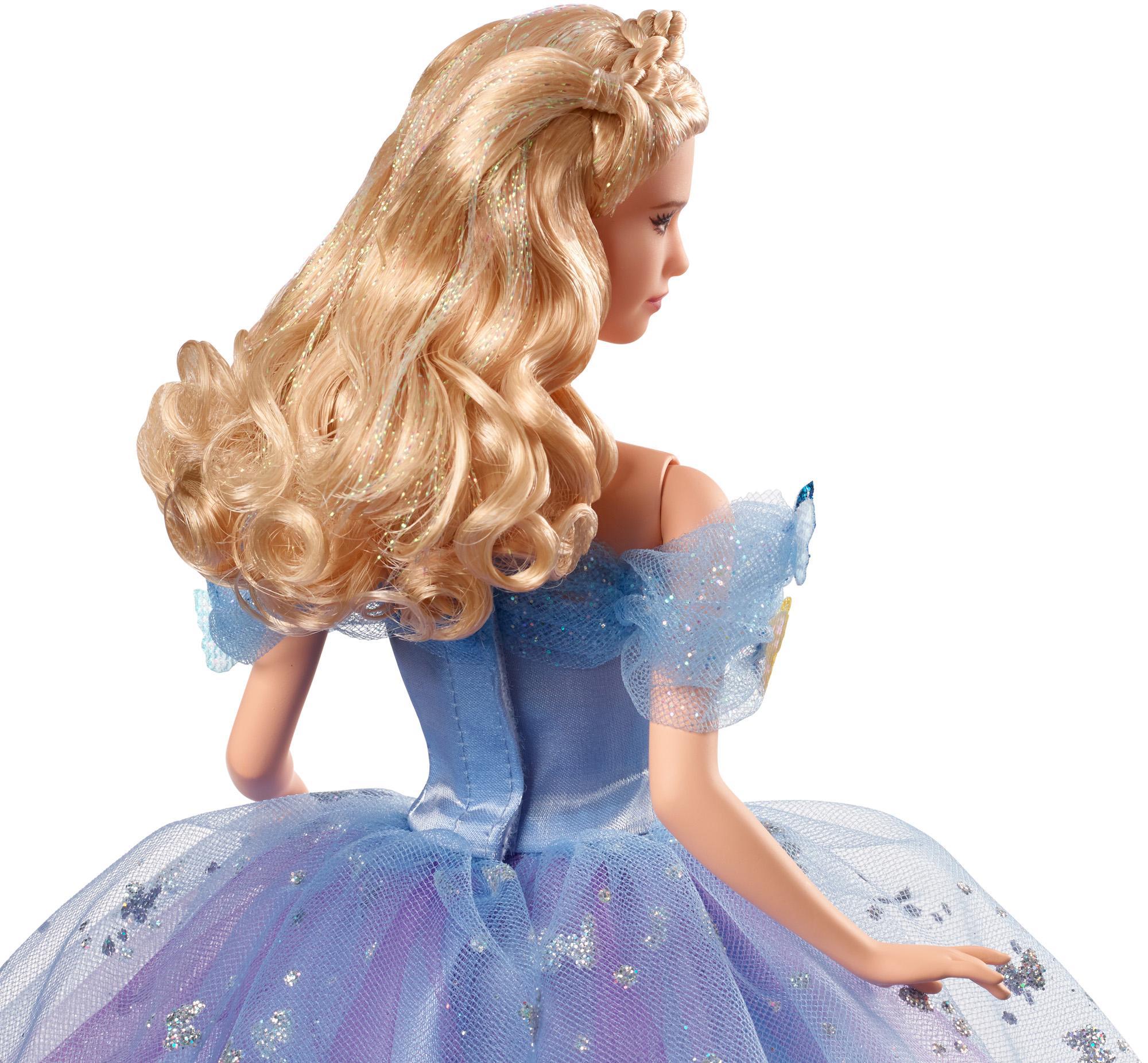 "Disney Princess Royal Ball Cinderella Doll: Disney 12"" Royal Ball Cinderella Doll In Beautiful Blue"
