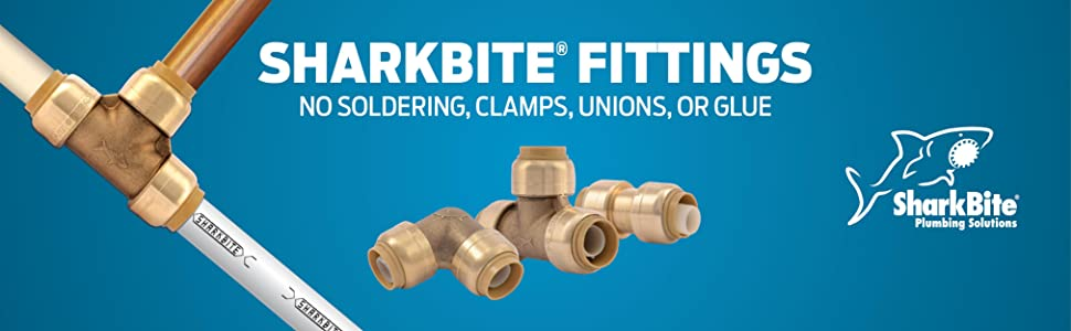 Push To Connect Fittings >> SharkBite U514LFA 1/2-Inch End Cap, Plumbing Fittings for ...