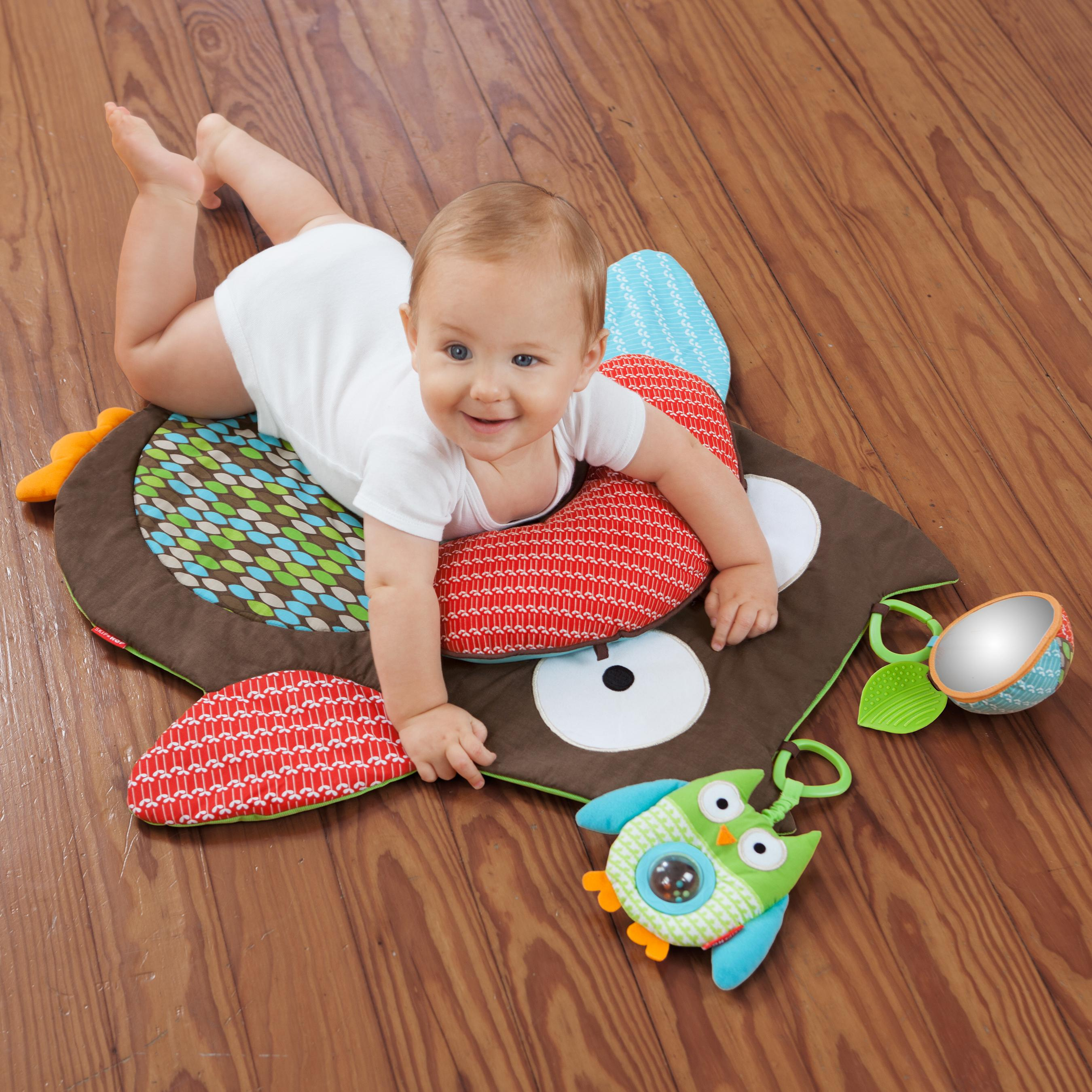 From The Manufacturer. Skip Hop Tummy Time Mat ...