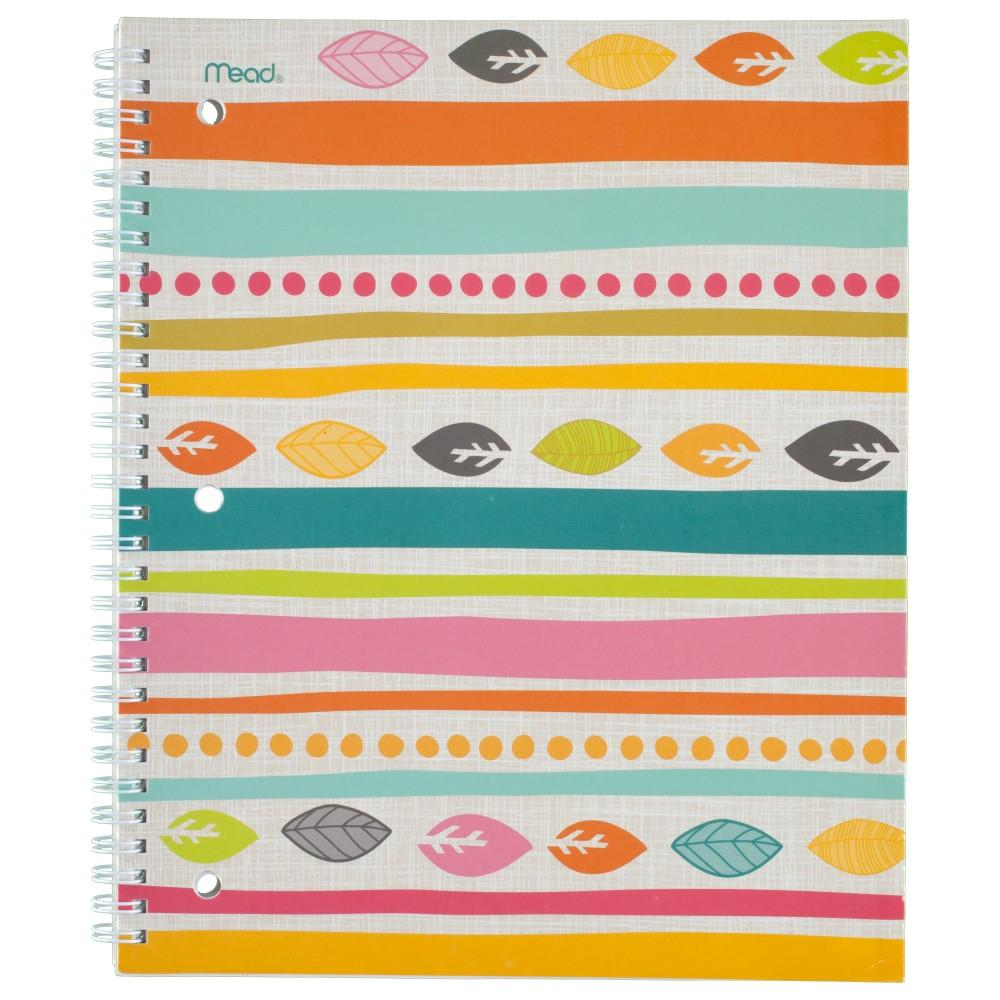 Amazon.com : Mead Spiral Notebooks, 1 Subject, College