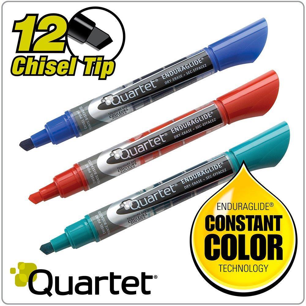 Amazon.com : Quartet Dry Erase Markers, Chisel Tip, BOLD
