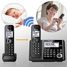 KX-TGF343B Baby Monitor