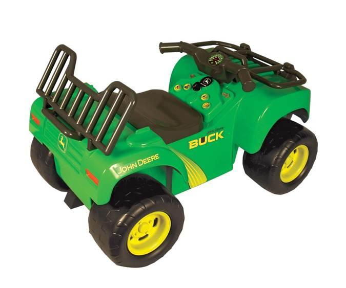 John Deere Outdoor Lighting: John Deere Sit-n-Scoot Buck ATV,Lighting