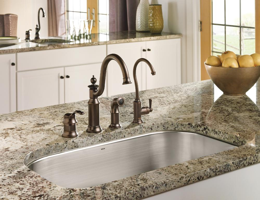 Kitchen Fixtures Faucets Polished Nickel