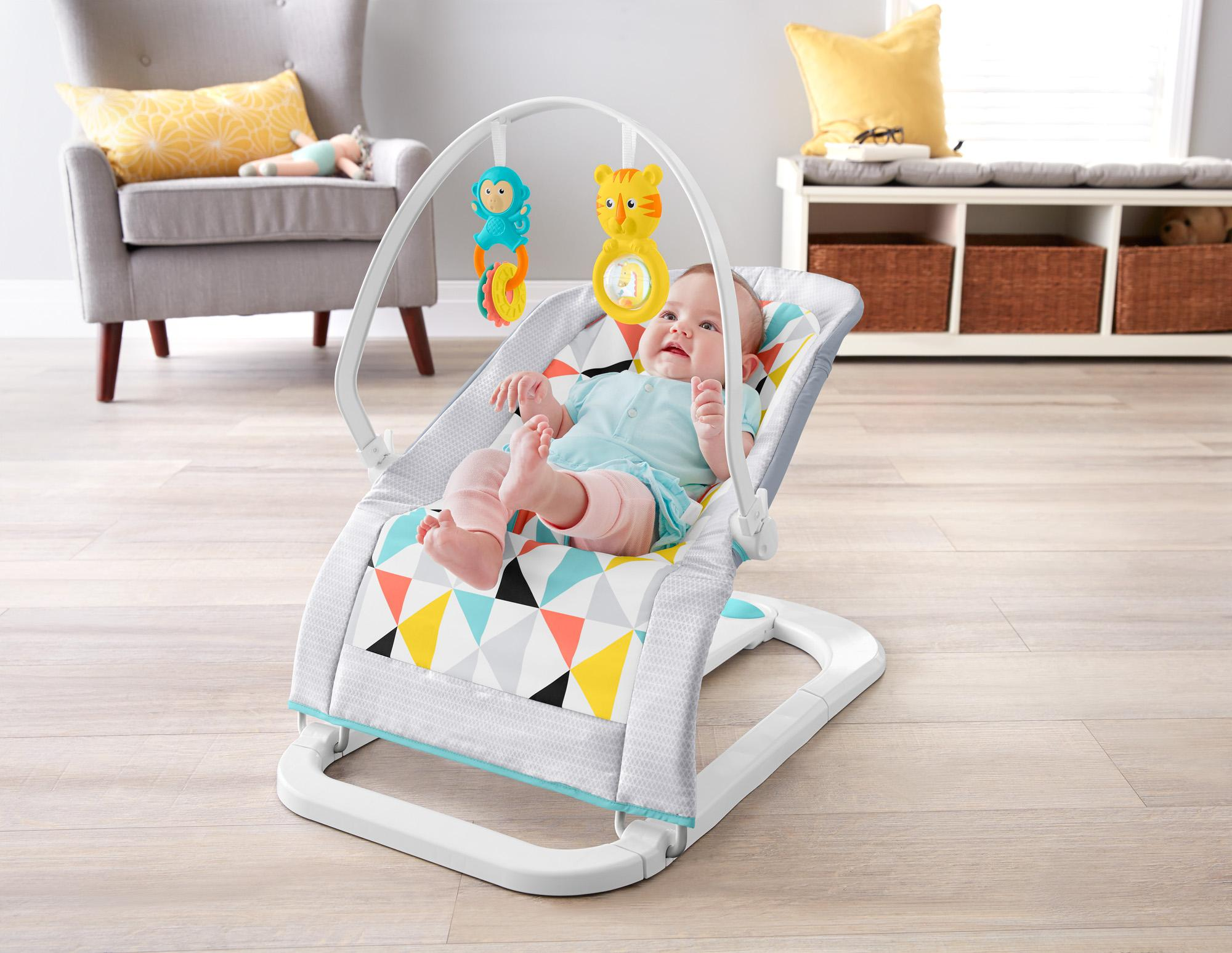 Amazon Com Fisher Price Fun And Fold Bouncer Baby