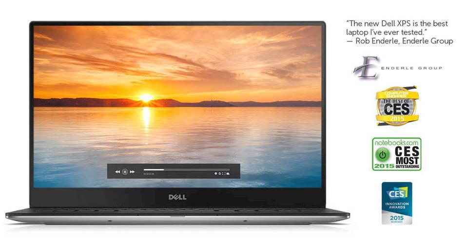 "Dell XPS9360-4841SLV 13.3"" Laptop (7th Generation Intel Core i7, 8GB"