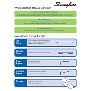 staples, standard size staples, silver staples, swingline