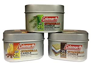 citronella, tin, candle, camping, deck, patio