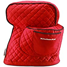 Amazon Com Kitchenaid Fitted Stand Mixer Cover For Tilt Head Stand Mixer Models 4 5 Quart And 5 Quart Empire Red Mixer Accessories Kitchen Dining