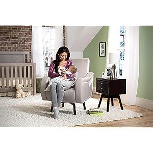 Lux Swivel Chair, Nursery Chair, Living Room Chair, Modern, Tan, Delta