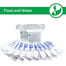 emergency preparedness readiness kit disaster Food Water rations nutrition
