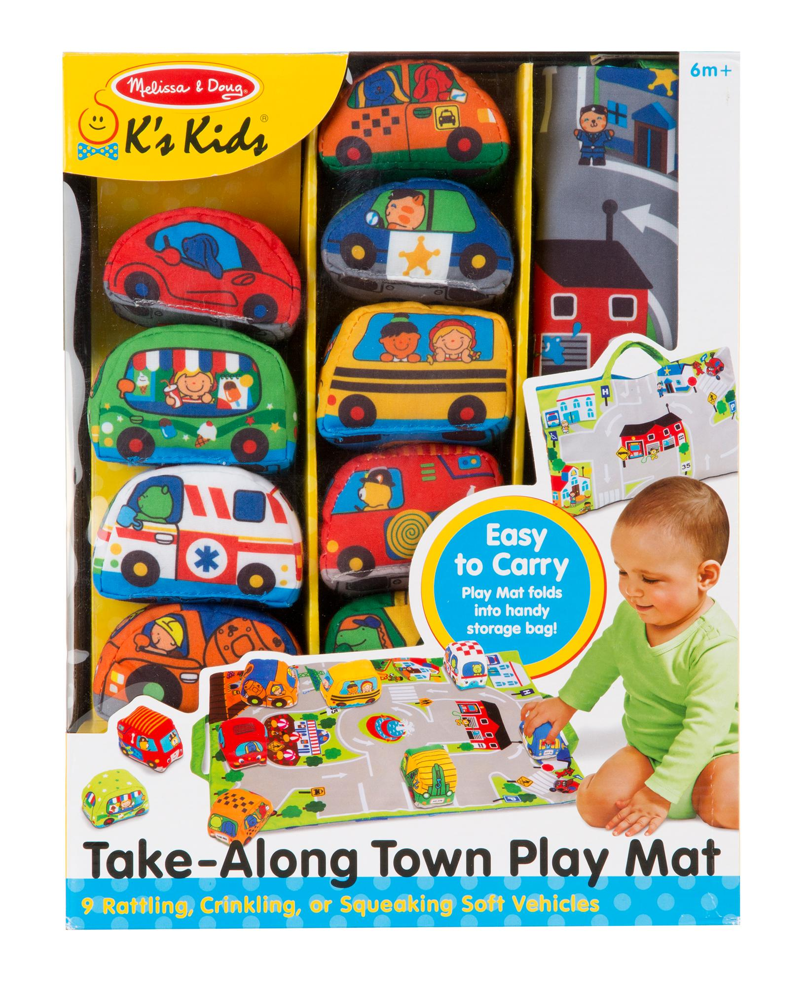 Melissa And Doug Toys : Amazon melissa doug take along town play mat