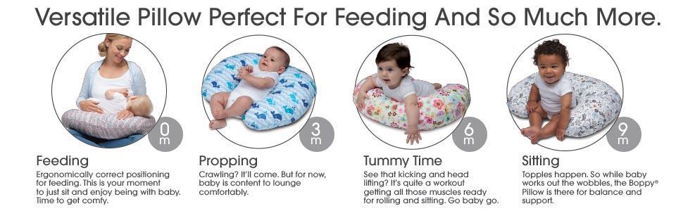 Amazon Com Boppy Nursing Pillow And Positioner Backyard