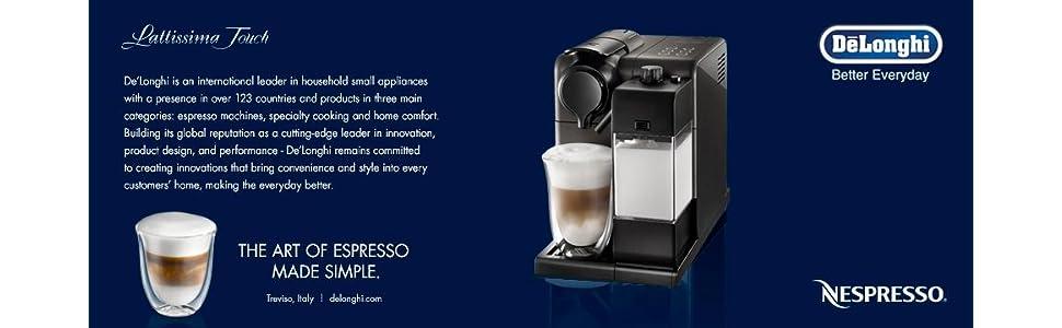 Amazon.com: De Longhi en550bk1 Lattissima Touch Nespresso ...