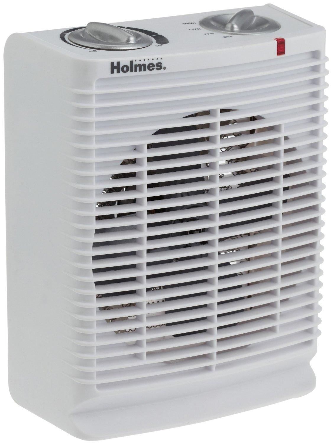 Holmes Portable Desktop Heater With Comfort Control T410 Electric Heat Thermostat W Position Off Switch White Product View Larger