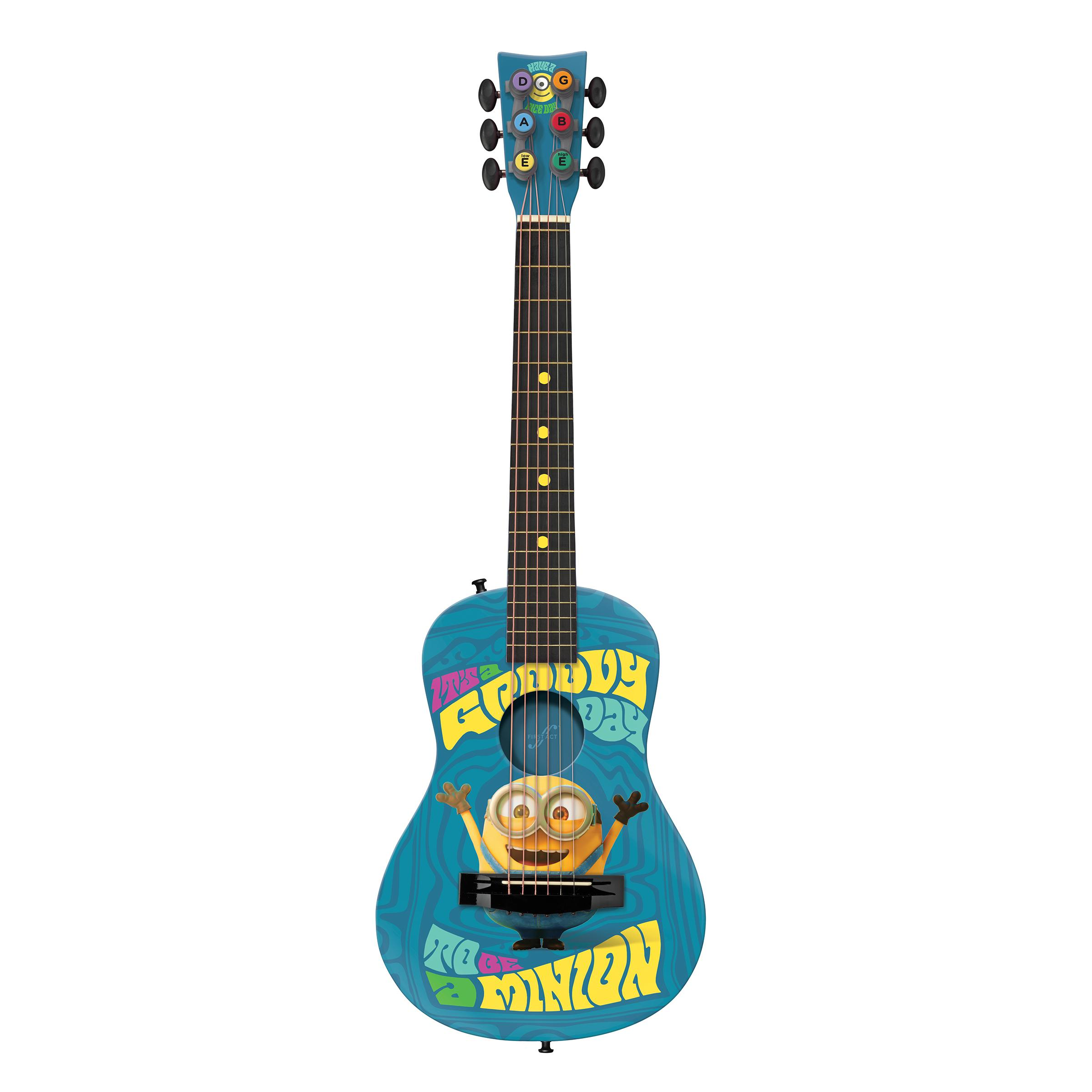 Amazon First Act Mn705 Minions Acoustic Guitar Musical Instruments