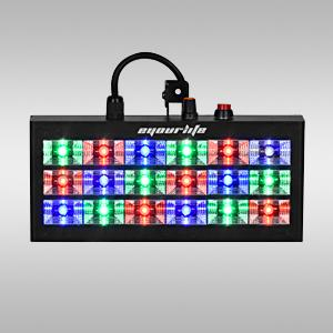 18 led 60w strobe rgb flash light stage party lighting sound activated. Black Bedroom Furniture Sets. Home Design Ideas