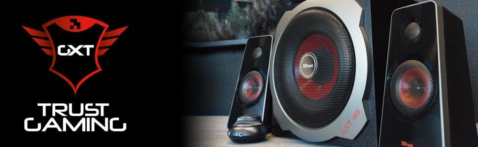 gaming speaker set;pc speakers;2.1 speakers