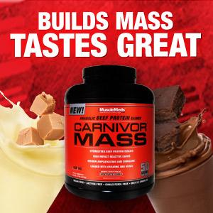 Amazon.com: Muscle Meds Carnivor Mass Suplemento para pérdida de ...
