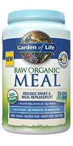 raw organic meal replacement