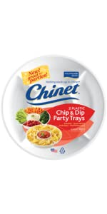 Chinet Chip & Dip