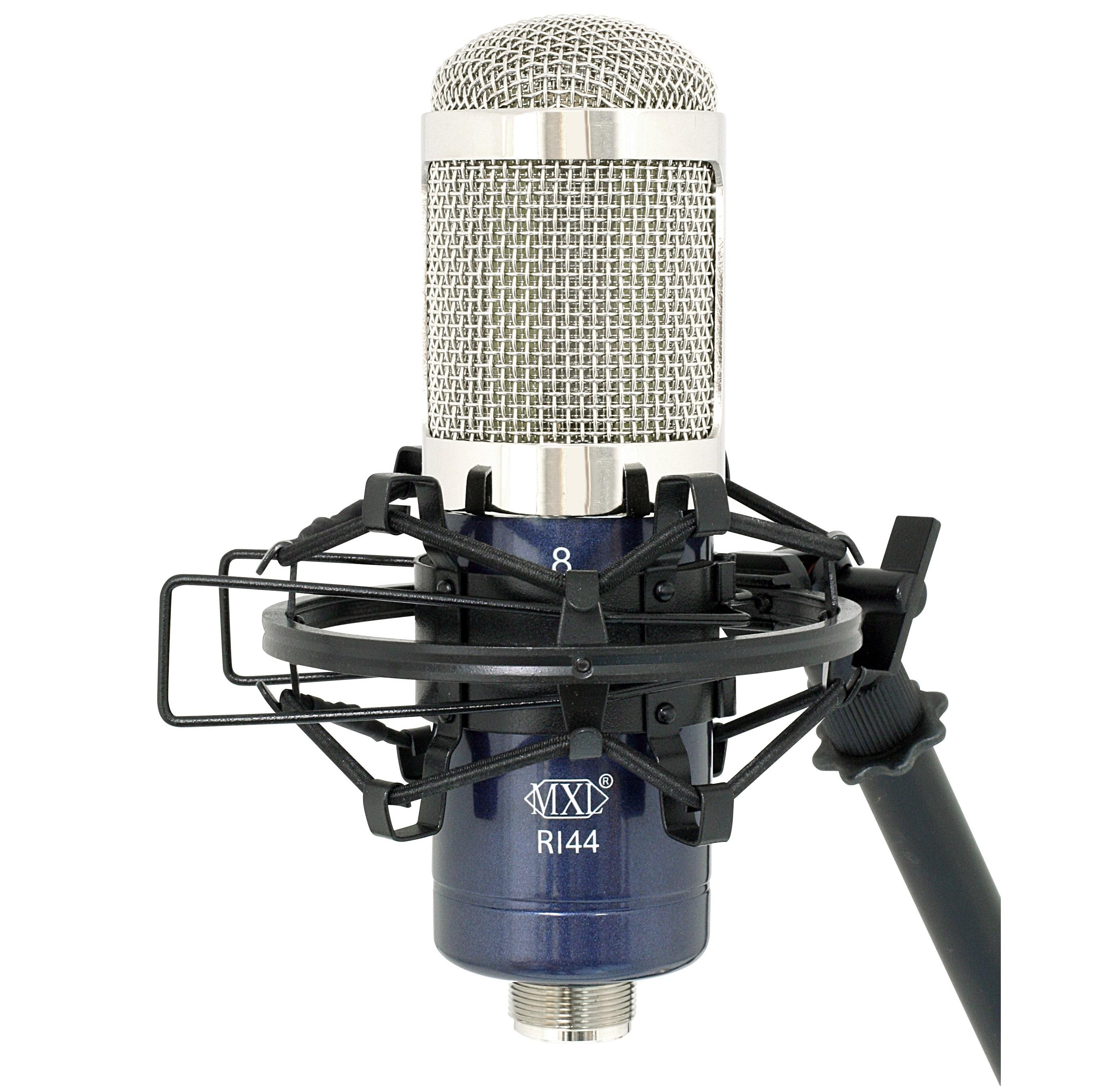 Mxl R144 Ribbon Microphone With Shockmount Musical Condenser Diagram View Larger