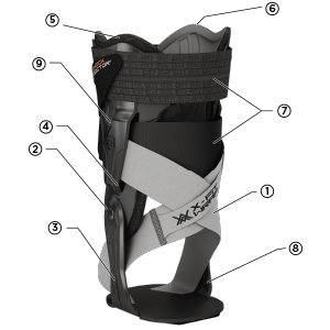 Shock Doctor V-Flex Ankle XT Technology, Shock Doctor V-Flex Ankle XT Features