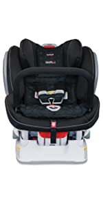 advocate, clicktight, britax, anti-rebound, bar, technology, safety, convertible, car seat
