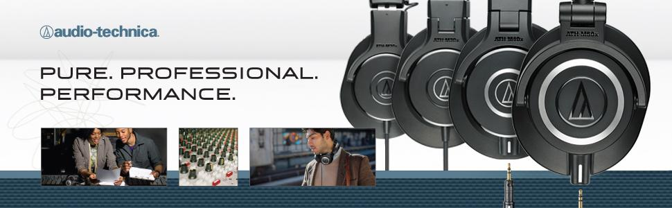 audio-technica, a-t, audio-technica headphones, a-t headphones, m series, m series headphones