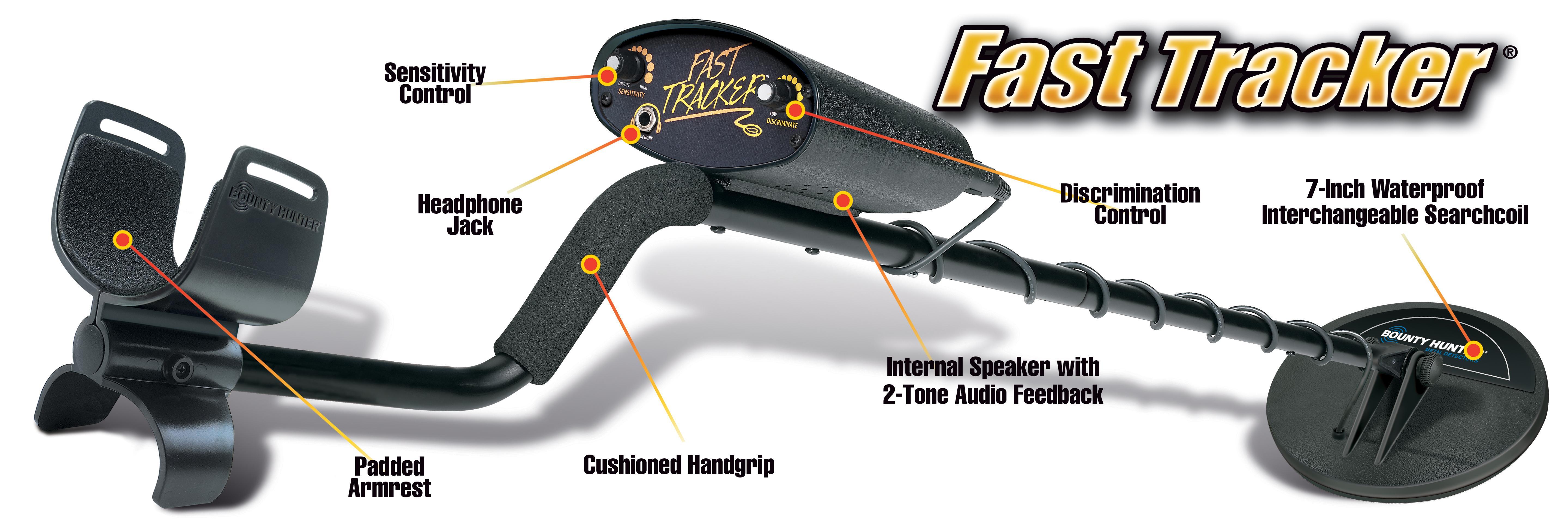 amazon com bounty hunter fast tracker metal detector 7 inch rh amazon com Real Bounty Hunters Bounty Hunter Logo