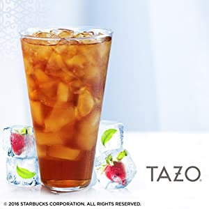 Iced tea from Tazo
