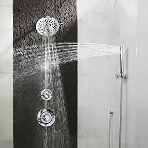 Adjustable Water Flow with Two Spray Modes