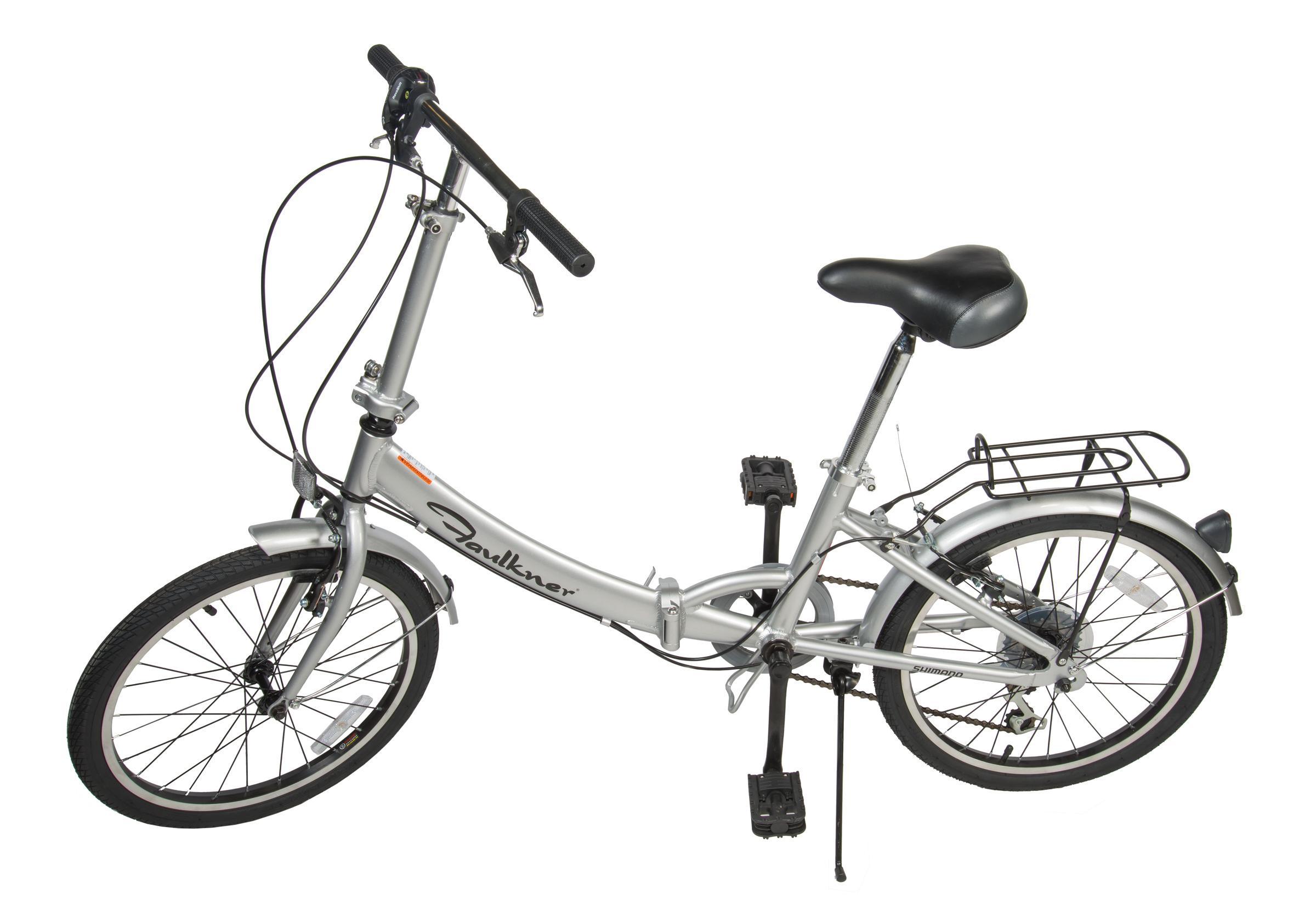 Faulkner Wl 2015a 6 Speed Folding Pedal Bike 20 Inch