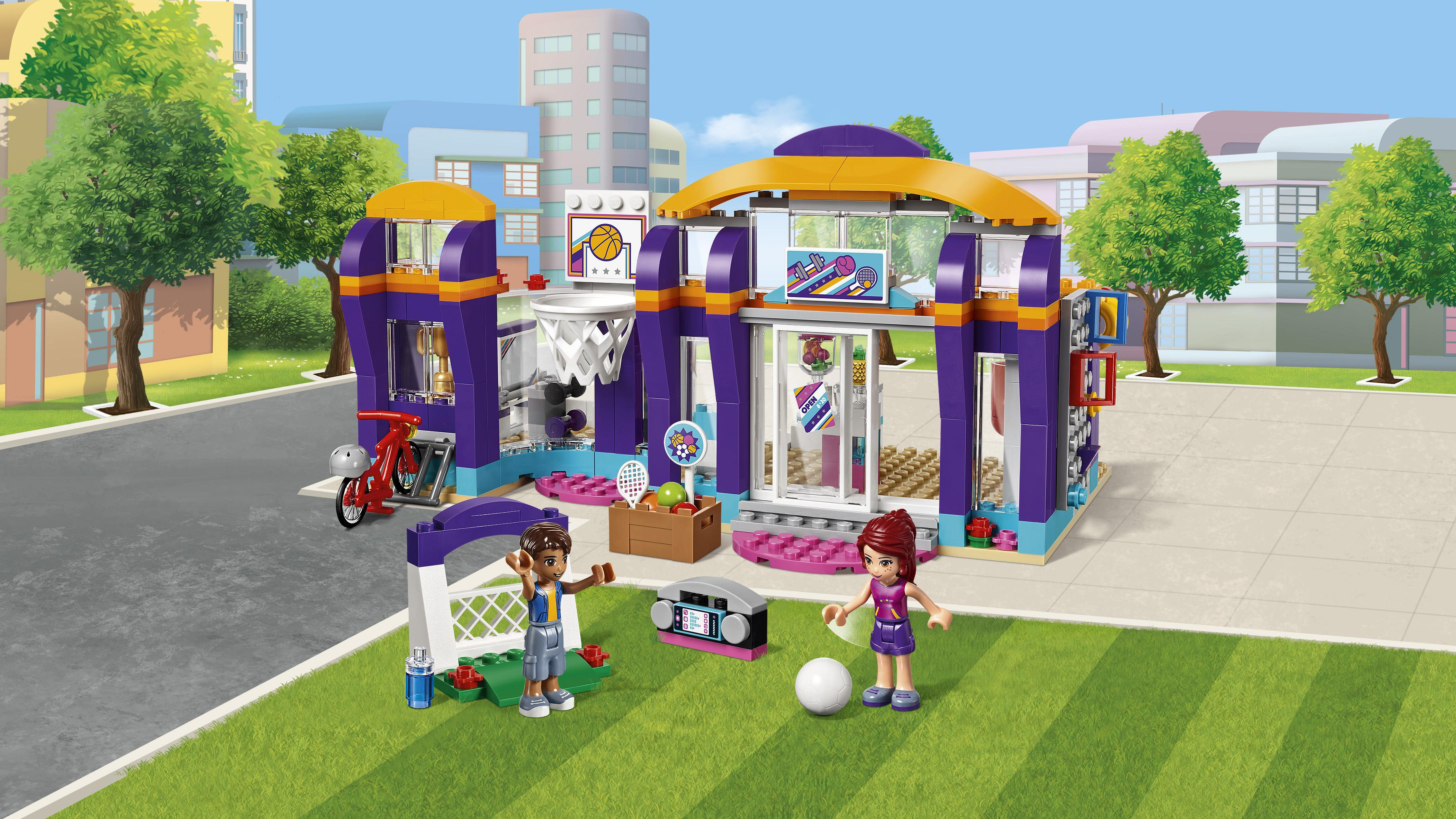 Amazon Com Lego Friends Heartlake Sports Centre 41312