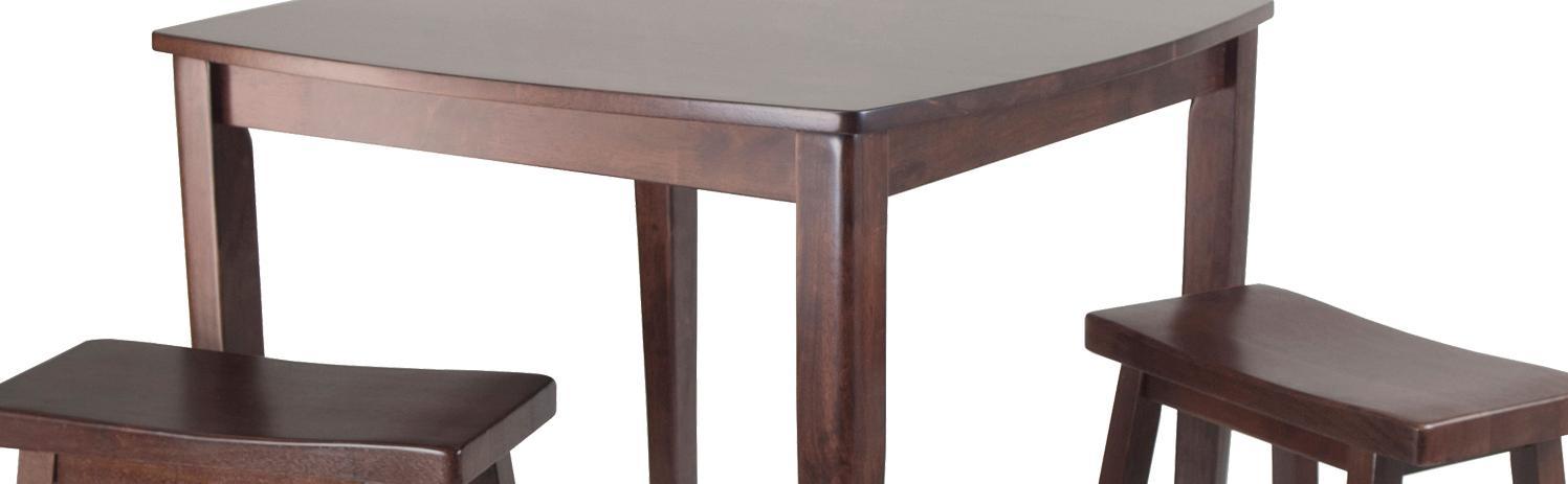 Amazon.com: Winsome Inglewood 3-Piece Pub Juego de mesa con ...