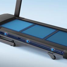shock absorption, treadmill deck
