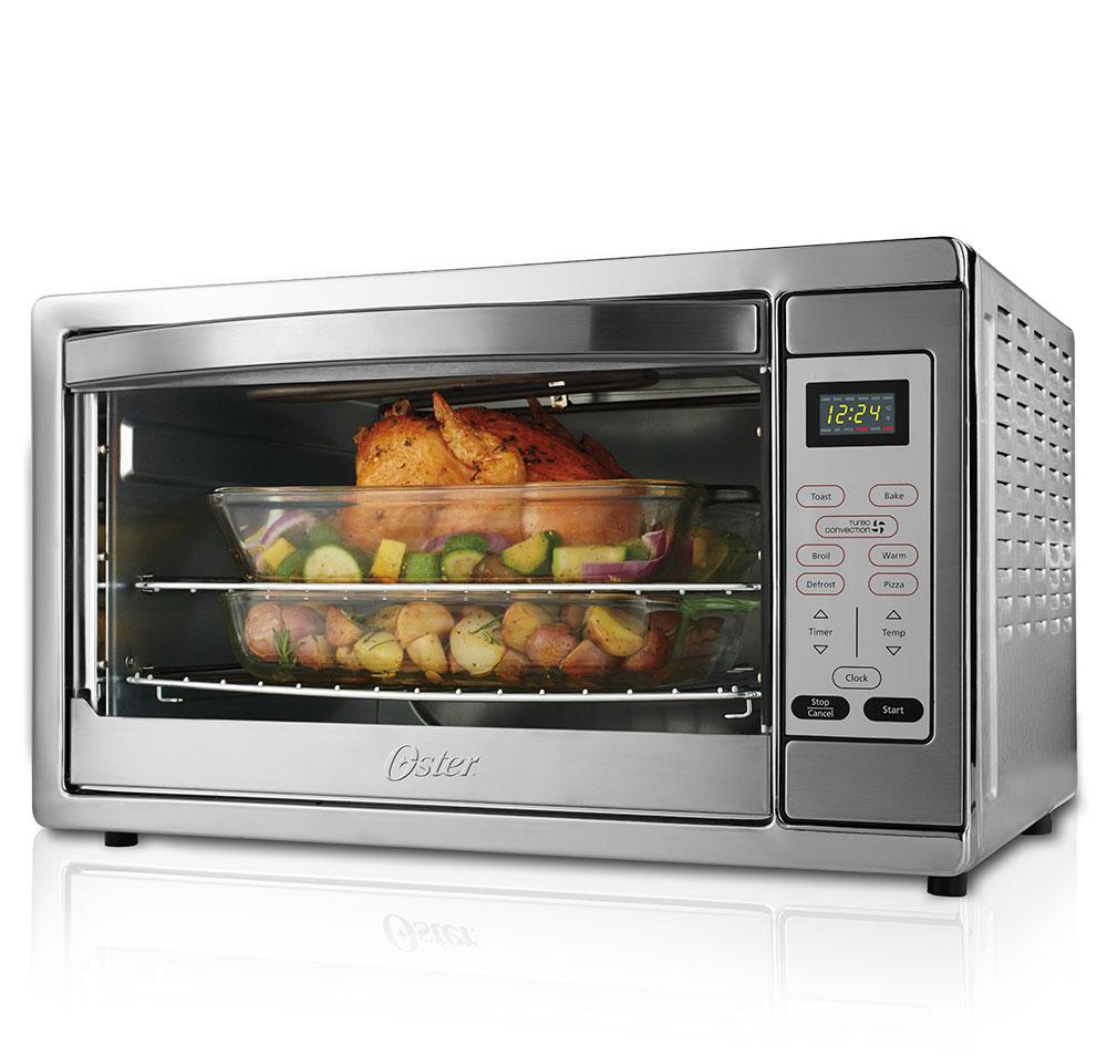 Convection Oven Cookware Toaster Digital Countertop Large Stove Pizza ...