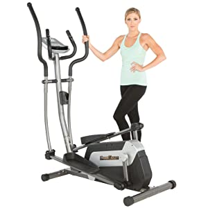 Fitness Reality E5500XL Magnetic Elliptical Trainer with Target Workout Computer