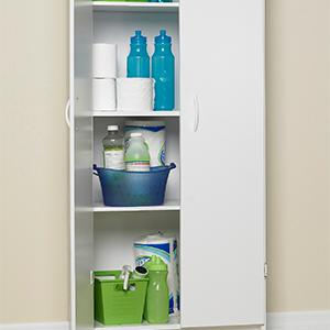 Amazon.com: ClosetMaid 8967 Pantry Cabinet, White: CLOSETMAID ...